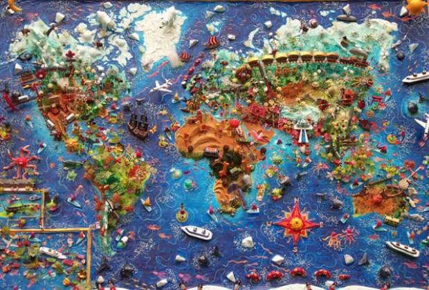 Farklı şekillerde dünya haritaları - Page 3