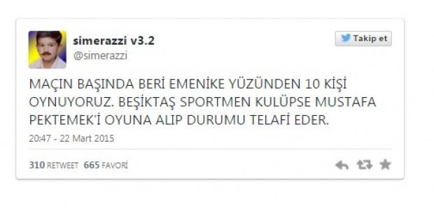 Fenerbahçe Beşiktaş derbisinin ardından yapılan tweetler - Page 4