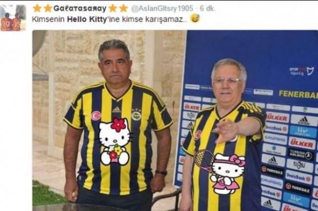 Fenerbahçe ve Hello Kitty anlaşması hakkında yapılan caps'ler - Page 4