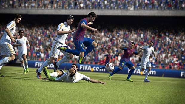 FIFA 13 iOS'tan görüntüler! - Page 1