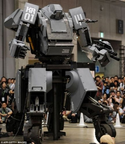 Filmlerden esinlenerek yapılan robotlar - Page 2