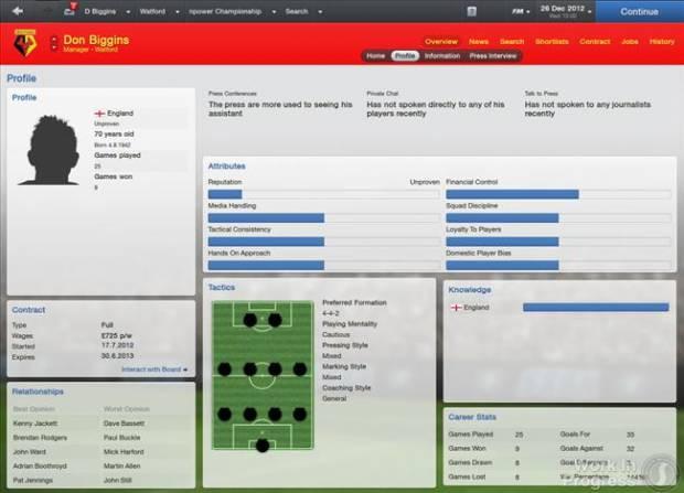 Football Manager 2013'ten İlk Görüntüler! - Page 1