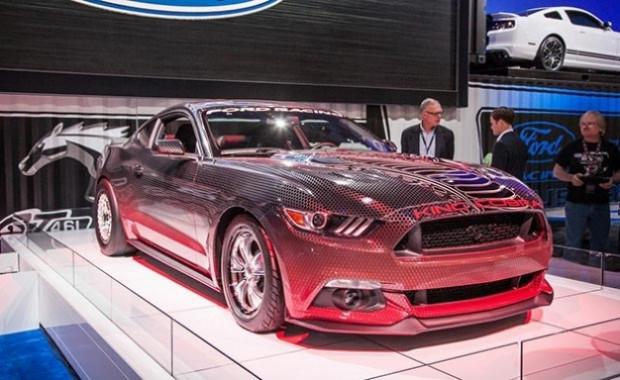 Ford Mustang GT King Cobra adında gizli aracını tanıttı - Page 4