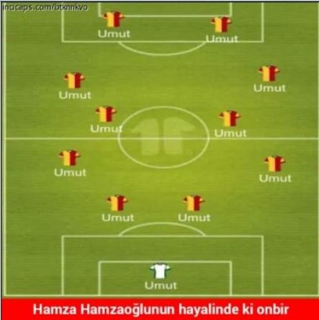 Galatasaray 4 attı capsler patladı - Page 1
