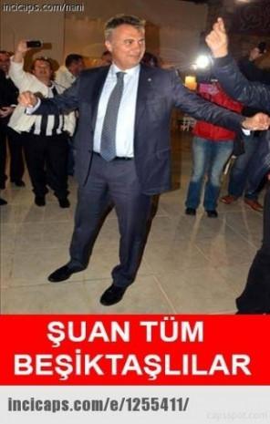 Galatasaray-Beşiktaş maçı sonrası caps'ler patladı - Page 1