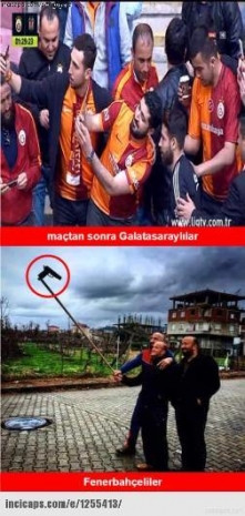 Galatasaray-Beşiktaş maçı sonrası caps'ler patladı - Page 3