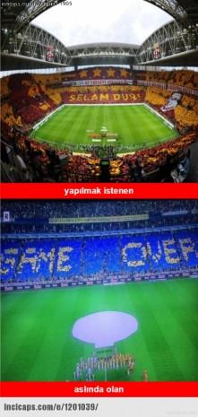 Galatasaray derbiyi kazanamadı capsler yine patladı - Page 1