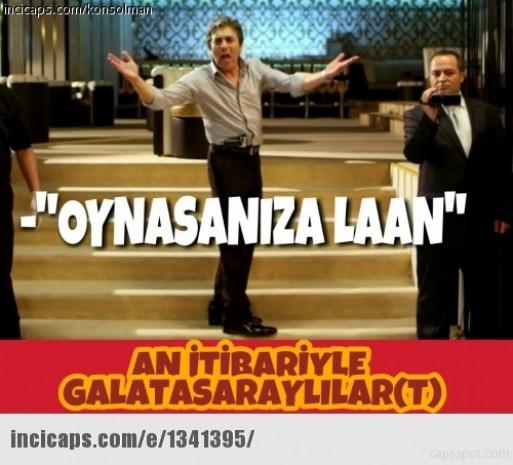 Galatasaray-Östersunds capsleri kırdı geçirdi - Page 1