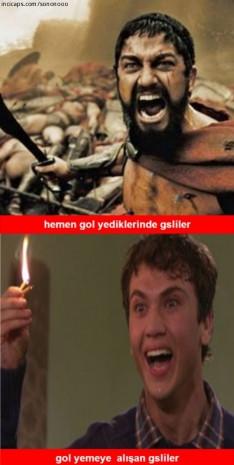 Galatasaray-Arsenal maçının güldüren capsleri - Page 2