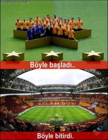 Galatasaraylılar sosyal medyada şampiyonluğun zevkini böyle çıkardı - Page 1