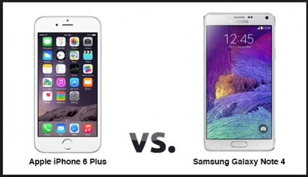 Galaxy Note 4 ve iPhone 6 Plus karşı karşıya - Page 2