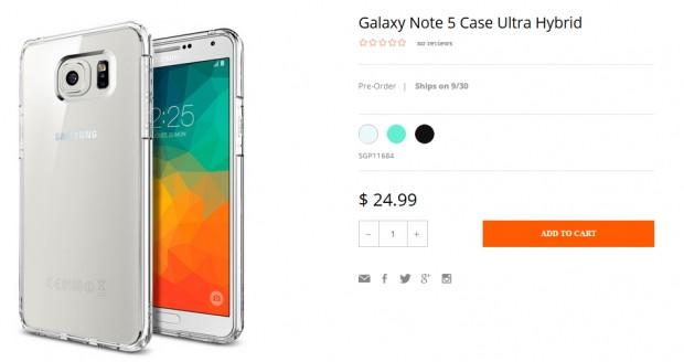 Galaxy Note 5 için kılıflar piyasaya çıktı - Page 3