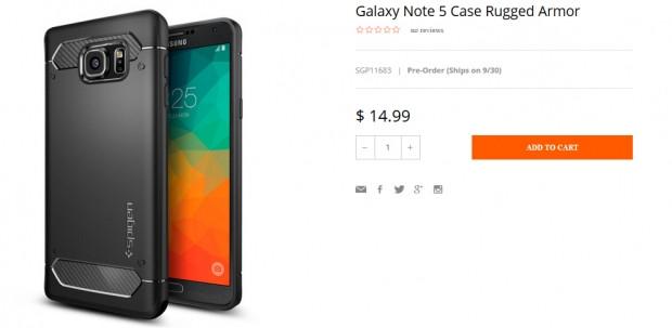 Galaxy Note 5 için kılıflar piyasaya çıktı - Page 4