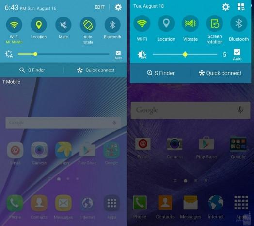 Galaxy Note 5 ve Galaxy Note 4'teki TouchWiz arayüzü karşılaştırıldı - Page 4
