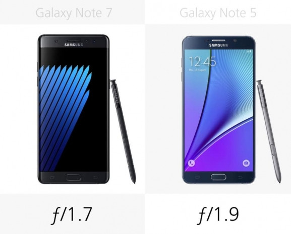 Galaxy Note 5 ve Samsung Galaxy Note 7 karşılaştırma - Page 1