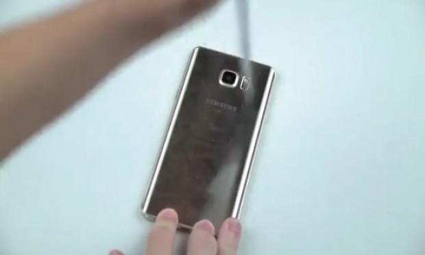 Galaxy Note 5'e bıçak ve çekiç testi - Page 3