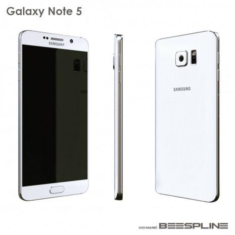 Galaxy Note 5'in 3D görüntüleri sızdı - Page 1