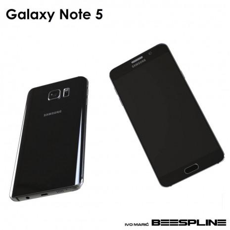 Galaxy Note 5'in 3D görüntüleri sızdı - Page 2