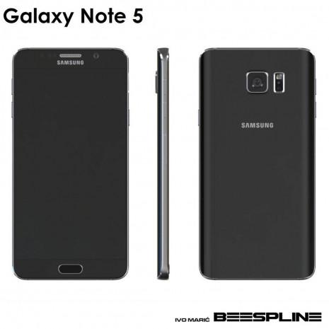 Galaxy Note 5'in 3D görüntüleri sızdı - Page 4