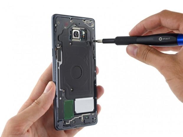 Galaxy Note 7 içerisinde yer alan parçalar ve sökme aşamaları! - Page 2