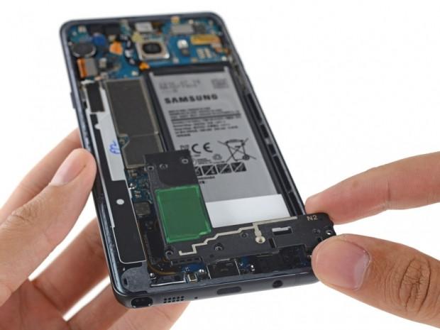 Galaxy Note 7 içerisinde yer alan parçalar ve sökme aşamaları! - Page 4