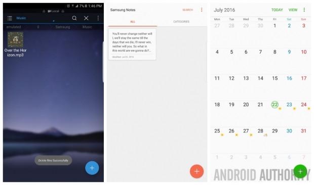 Galaxy Note 7'nin duvar kağıtları ve ekran görüntüleri sızdı - Page 4