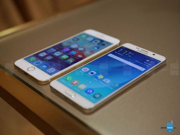 Galaxy Note5 ve iPhone 6 Plus yan yana - Page 3