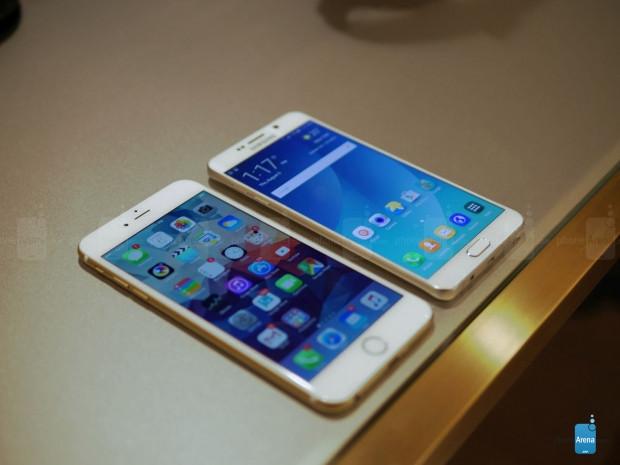 Galaxy Note5 ve iPhone 6 Plus yan yana - Page 4