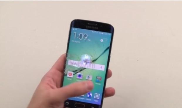 Galaxy S6 Edge bıçak ve çekiç testinde - Page 2