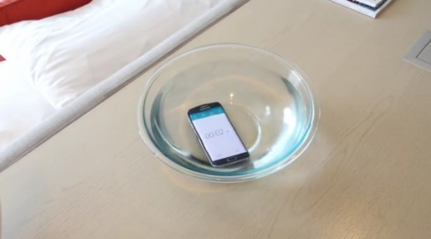 Galaxy S6 Edge suya ne kadar dayanabilir? - Page 1