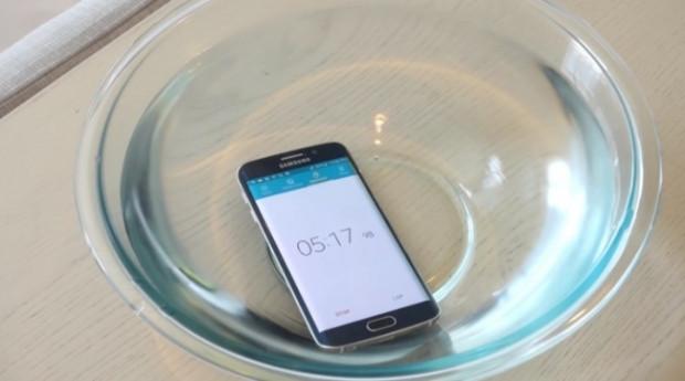 Galaxy S6 Edge suya ne kadar dayanabilir? - Page 2