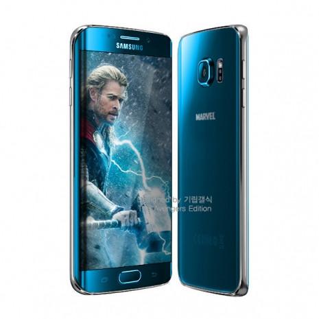 Galaxy S6 edge'nin sınırlı sayıda Avengers temalı telefonları - Page 1