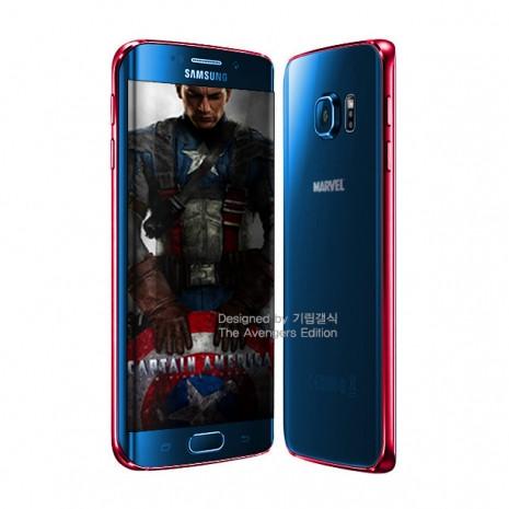 Galaxy S6 edge'nin sınırlı sayıda Avengers temalı telefonları - Page 2