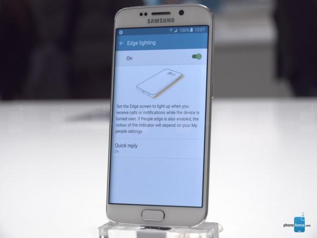 Galaxy S6 Edge'nin yan ekran özellikleri - Page 1