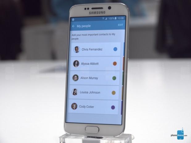 Galaxy S6 Edge'nin yan ekran özellikleri - Page 3