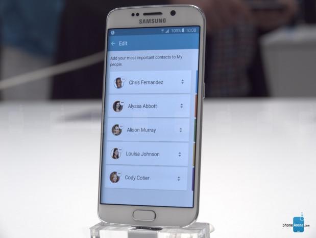 Galaxy S6 Edge'nin yan ekran özellikleri - Page 4