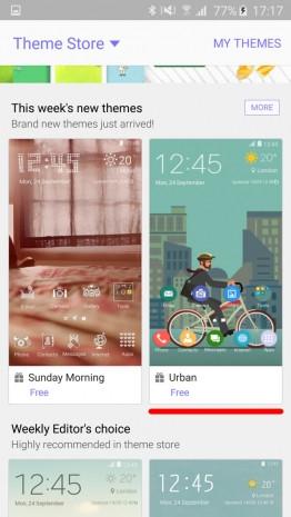 Galaxy S6 ve S6 Edge'de temalar nasıl değiştirilir? - Page 3