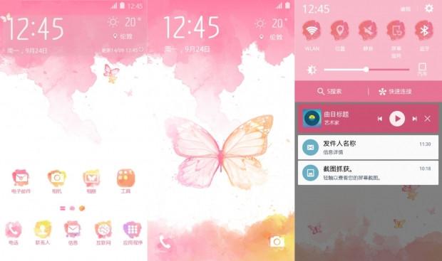 Galaxy S6 ve S6 kenar için yeni temalar - Page 1