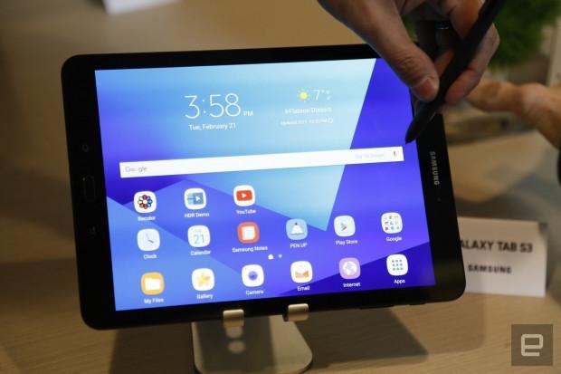 Galaxy Tab S3'e ait ilk görüntüler - Page 1