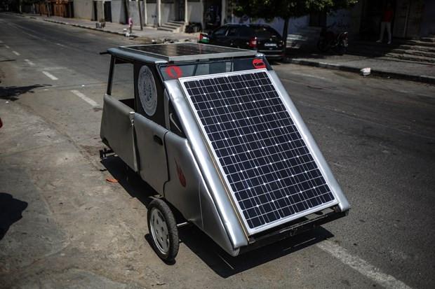Gazze'de güneş enerjisiyle çalışan araç üretildi - Page 4