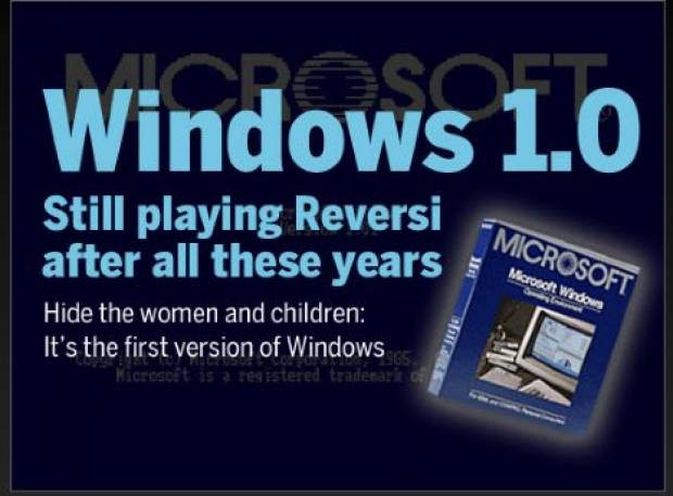 Geçmişten günümüze resimlerle Microsoft Windows -GALERİ - Page 1
