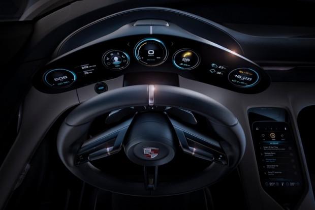 Geleceğin elektrikli otomobili Porsche Misyon E - Page 1