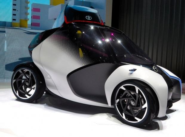 Geleceğin otomobili Toyota, i-Tril - Page 4