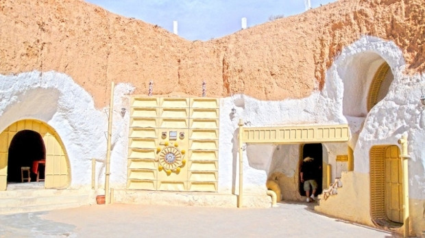 Gerçekten Dünyada var olan 17 Star Wars mekanı! - Page 1