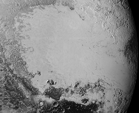 Gizemli gezegende yüzen buz kütleleri - Page 1