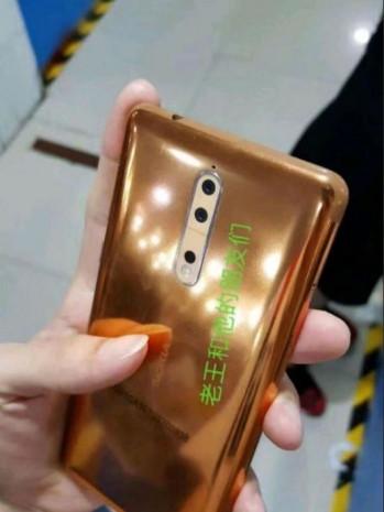 Gold-copper Nokia 8 üretim hattında sızdırıldı - Page 2