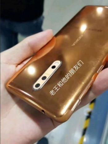 Gold-copper Nokia 8 üretim hattında sızdırıldı - Page 3