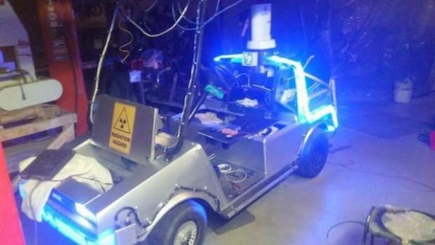 Golf arabasının farklı bir sistem kullanarak normal araca dönüşümü! - Page 4