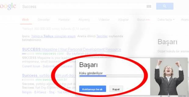 Google burun uygulaması - Page 4