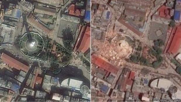 Google Earth Depremin etkisini böyle görüntüledi - Page 3